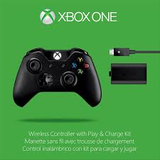 amazon com xbox one wireless controller and play u0026 charge kit