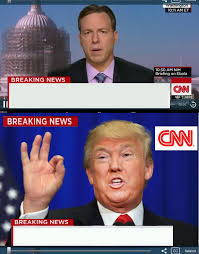 Blank Meme Template - cnn phony trump news blank template imgflip