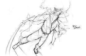 afro samurai sketch by slo mo on deviantart