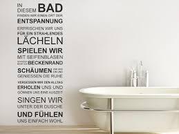 wandtattoos badezimmer in diesem bad spruchbanner wandtattoo wandgestaltung und bäder