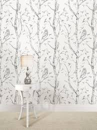wall pops nu1412 gray woods peel and stick wallpaper amazon com