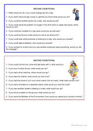 Coordinating And Subordinating Conjunctions Worksheets 83 Free Esl Second Conditional Worksheets