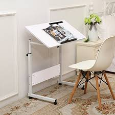 Sofa Table Height Buy Unicoo Height Adjustable Laptop Cart Computer Tabel Student