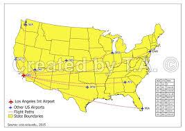Mia Airport Map Gis Analysis Using Arcgis Mapinfo And Qgis Infosyntaxis