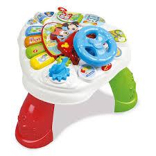 table d activité bébé avec siege table d activités baby mickey clementoni king jouet activités d