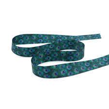 peacock ribbon satin 7 8 width craft ribbons ebay
