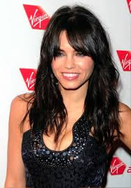 soft curl hairstyle pictures of long black hairstyle with soft curls and wispy bangs