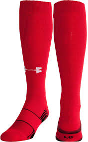 Flag With 2 Red Stripes And 1 White Baseball Socks U0027s Sporting Goods