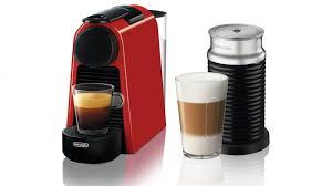 delonghi magnifica red light buy delonghi nespresso essenza mini coffee machine red harvey