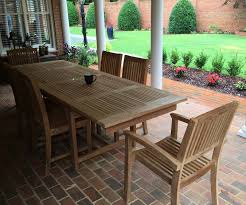 Teak Outdoor Furniture Atlanta by Royal Double Extension Table Atlanta Teak Furniture