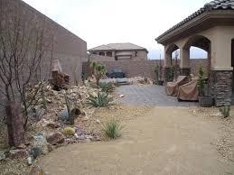 Desert Rock Garden Ideas Front Yard Rock Landscaping Golbiprint Me