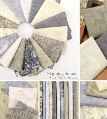 Anna Maria Horner Home Decor Fabric by Anna Maria Horner Skipping Stones Lineage Platinum Free
