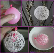 diy pretty string decoration for