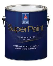 superpaint interior acrylic latex paint sherwin williams