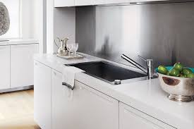 How To Clean Kitchen Sink Disposal How To Clean A Stainless Steel Sink Qualitybath Com Discover