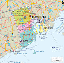Ri Map Rhode Island State Maps And Map Roundtripticket Me