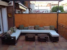 Build Outdoor Sectional Sofa Diy Pallet L Shaped Sectional Sofa Pallets Shapes And Pallet