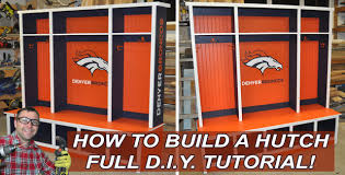 How To Build Bedroom Furniture by How To Build A Bedroom Hutch Or Mudroom Hutch With Diy Pete Youtube