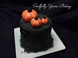 halloween delivery a posh autumn layer cake