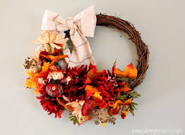 Thanksgiving Wreath Craft 14 Cool Diy Dollar Store Crafts For Thanksgiving Shelterness