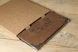 large leather scrapbook large leather scrapbook diy photo album signature book