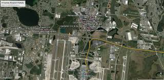 Orlando Airports Map by Hotels Cruise Port Canaveral A Guide For Passengers