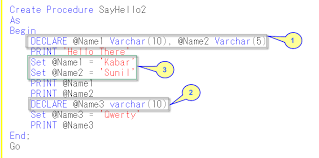 Declaration In Resume Sample Sql Server Stored Procedure Explained With Examples Codeproject