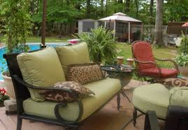 Outdoor Patio Furniture Cushions Replacement by Casual Style Backyard Design With Walmart Light Olive Seat