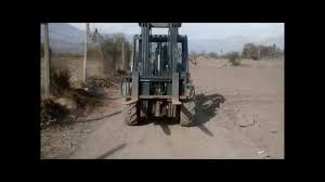 manitou mh 25 4t en terreno arado youtube