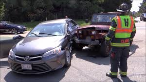 two vehicle crash with entrapment harwich ma 8 26 17 youtube