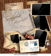 Vintage Scrapbook Album Vintage Scrapbook Stock Images Royalty Free Images U0026 Vectors