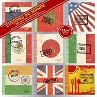livre de cuisine du monde cuisine du monde coffret 9 livres 200 recettes hachette