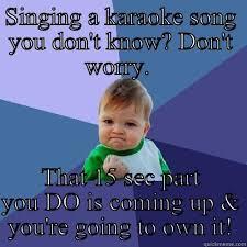 Funny Karaoke Meme - maria r hudkins s funny quickmeme meme collection