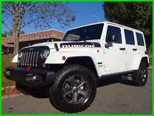 white four door jeep wrangler jeep wrangler unlimited rubicon ebay