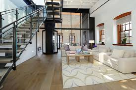 Warehouse Interior Warehouse Penthouse Loft Blends Modern New York With Old Time