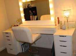 table vanity mirror table with lights 83 breathtaking decor plus