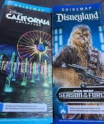 map of california adventure 2017 disneyland california adventure map guides chewbacca woc