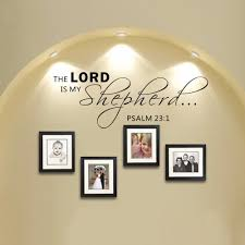compare prices on scripture wall decals quotes online shopping scripture wall decals the lord is my shepherd psalm 23 1 vinyl wall quote