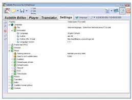 Seeking Subtitles Subtitle Processor