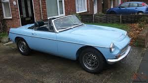 Mgb V8 Roadster 1970 Iris Blue Convertible Tax Exempt