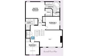 second floor plan of the a 2 060 square foot single family
