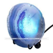 usb office fairy lights agate stone tripod usb interface led fairy lights home office