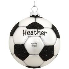 soccer ornaments to personalize 19 best soccer christmas ornaments images on field