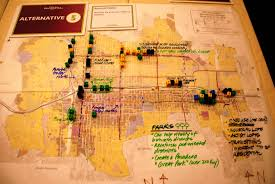 Pasadena Ca Map Charrette Day 2 General Plan City Of Pasadena California