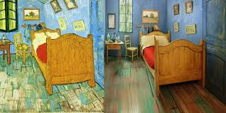 sensual paintings for the bedroom the art institute of chicago created a replica of van gogh s