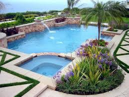 Pool Garden Ideas Pool Landscaping Pictures Pool Deck Grassmediterranean