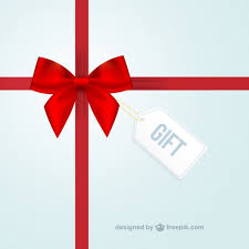 gift background vector free download