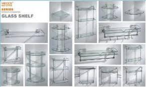Glass Bathroom Shelf With Towel Bar Bathroom Accessories Towel Bar Towel Ring Clothes Hook Glass