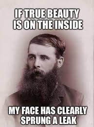 Beard Meme - save the beard beauty facebook