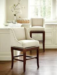 upholstered kitchen bar stools these tufted bar chairs are a simple way to add pops of color to